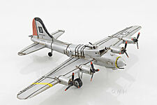 "B-17 Flying Fortress Bomber Metal Desk Model 12"" WWII Airplane Decor"