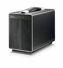 AKiTiO Thunder2 Quad 4-Bay Thunderbolt-2 Enclosure with Ultra Quiet Fan Option