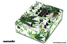 Skin Decal Wrap for PIONEER DJM-400 DJ Mixer CD Pro Audio DJM400 Parts WEEDS WHT