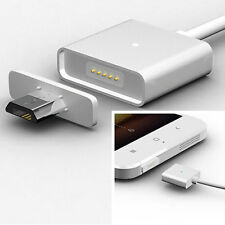 2.4A Magnetic Adapter Micro USB Charger Charging Cable for Android Samsung