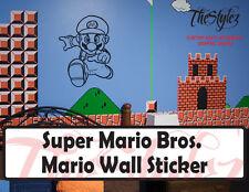 Super Mario Bros. Mario Wall Vinyl Sticker