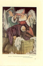 SHAKESPEARE PRINT; MERRY WIVES OF WINDSOR by WH MARGETSON c1930s (UNDATED)