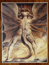 "William Blake ""Red Dragon and the Woman Clothed in the Sun "" 30"" x 24"" Poster"