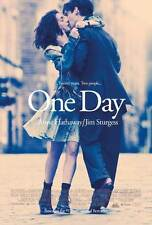 ONE DAY Movie POSTER 27x40 Anne Hathaway Jim Sturgess Patricia Clarkson Romola