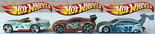 Hot Wheels - 1992 Mattel Inc. - Power Range - Ford Focus - Three Die-Cast Cars