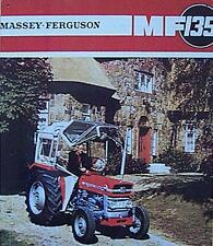 Altes Blechschild Oldtimer Traktor Massey Ferguson Reklame Werbung gebraucht