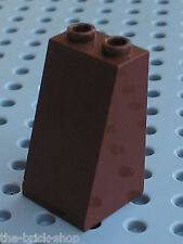 LEGO Star Wars RedBrown slope brick ref 3684 / set 7662 10144 7251 & 8876