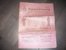 LE SAPEUR  POMPIER 1907