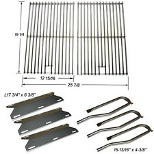 Replacement Burners SS Heat Plates&Cooking Grid for Jenn Air Gas Grill 720-0336