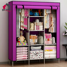 FOLDING WARDROBE CUPBOARD ALMIRAH-XI- PNK