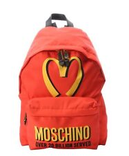 Moschino McDonalds 20 Billion Served Backpack Fast Food Red Limited SOLD OUT