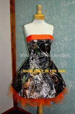 NEW Camo Wedding dress-CUSTOM MADE- In the USA