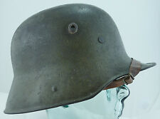 German ORIGINAL WWI WW1 M1916 Green Helmet With Liner