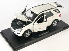 BLITZ VERSAND Mercedes-Benz ML 350 M-klasse cream Welly Modell Auto 1:18 NEU OVP