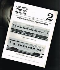 vintage LIONEL Photo Album #2 Pictorial Review w/ $ Prices:Pass.Cars,Motor Units