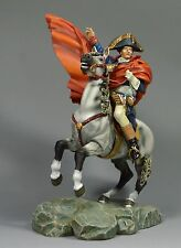 90mm handpainted and finished figure Napoleon Crossing Apes figure with horse