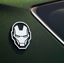 INKL-MV-IRN: Iron Man Injection Molded Emblem (Auto Decal)