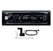 KENWOOD KDC-BT700DAB CD MP3 USB Bluetooth Car Stereo iPod iPhone & DAB+ AERIAL