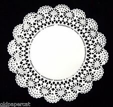 """100 - 6"""" White CAMBRIDGE LACE PAPER DOILIES Parties Wedding 