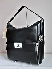 MICHAEL MICHAEL KORS Black SLOAN LG LEATHER SHOULDER Bag Handbag Purse