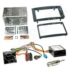 VW Touareg t5 coche 2-din radio diafragma ISO cable del adaptador kit de integracion con Can-Bus