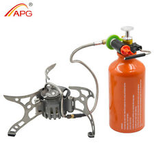 Camp Stove Portable Backpacking Multi fuel Outdoor Picnic Gasoline Burners APG