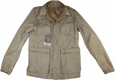 "PRADA TAN WINDBREAKER RAIN JACKET ""PIUMA PAINTED""- 48/38 US- MADE IN ITALY"