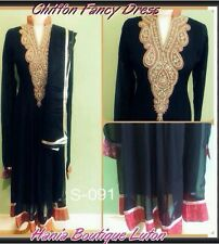 Indian Ready Made Bollywood Fancy Anarkali Bridal Party Frock Maxi Gown Dresses