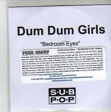 (CH522) Dum Dum Girls, Bedroom Eyes - DJ CD