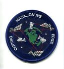 NASA ON THE CUTTING EDGE SPACE PROGRAM MISSION PATCH