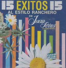 CD - Juan Torres NEW Al Estilo Ranchero 15 Exitos FAST SHIPPING !