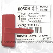 Bosch Forward/Reverse Change-Over Switch Lever PSB 5-15 RE Drill 2 602 098 008