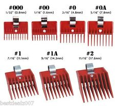 1 SPEED O GUIDE Universal Clipper Comb Attachment 7 Diff Size  Choose One Size