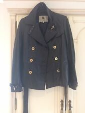 BURBERRY LEATHER JACKET,STUNNING BUTTER SOFT LEATHER.SIZE M .REDUCED !!!!!!'