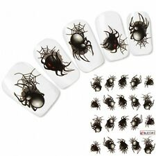 Tattoo Nail Art Spider Aufkleber Nagel Sticker Spinne Neu!