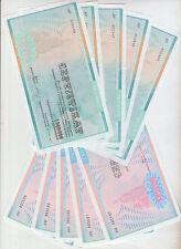 Ukraine Lot 10 pcs. 1000000 +2000000 Karbovwantsiv 1992 Pick 91A,91B aUNC