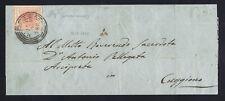 LOMBARDO VENETO 1851 - 15 c. VARIETA' n. 5 MILANO C4  p. 3 € 205+