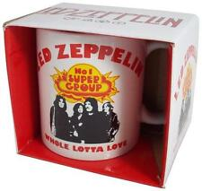 Led Zeppelin: Whole Lotta Love Ceramic Coffee / Tea Mug - New & Official In Box