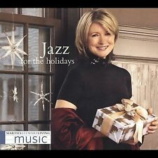 Martha Stewart Living JAZZ FOR THE HOLIDAYS CHRISTMAS HOLIDAY DINNER PARTY MUSIC