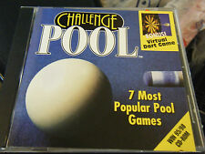 Challenge Pool & Bonus Virtual Darts Game (PC, 1998)