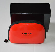 NEW VIP gift from Chanel beauty counter - small red Chanel make up bag NIB RARE