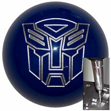 Transformer Autobot Blue shift knob for Dodge Chrys auto stk w/ adapter