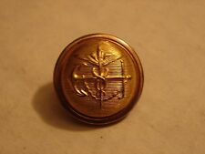 Original 1880-1890s PHS OFFICERS Gold-finish Uniform Button-Non-Dug