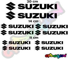 Kit loghi moto SUZUKI Replica Compatibili stickers adesivi
