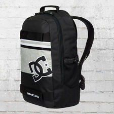 DC Shoes Rucksack Grind Backpack Board-Halter schwarz grau Laptop Fach Notebook