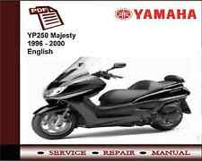 Yamaha YP250 YP 250 Majesty 1996 - 2000 Workshop Service Repair Manual