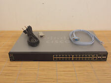 Cisco SG500-28-K9 Stackable Managed 28x Port GIGABIT Switch