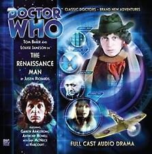DOCTOR WHO Big Finish Audio CD Tom Baker 4th Doctor #1.2 THE RENAISSANCE MAN