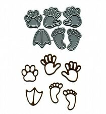 Signature Dies by Joanna Sheen - Hands Feet and Paws SD061