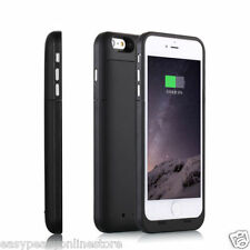 "Black iPhone 6 6s 4.7"" 3800 mah Power Bank Charger Charging Case ultra thin iOS9"